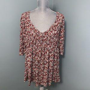 American Rag floral boho shirt plus size  3X
